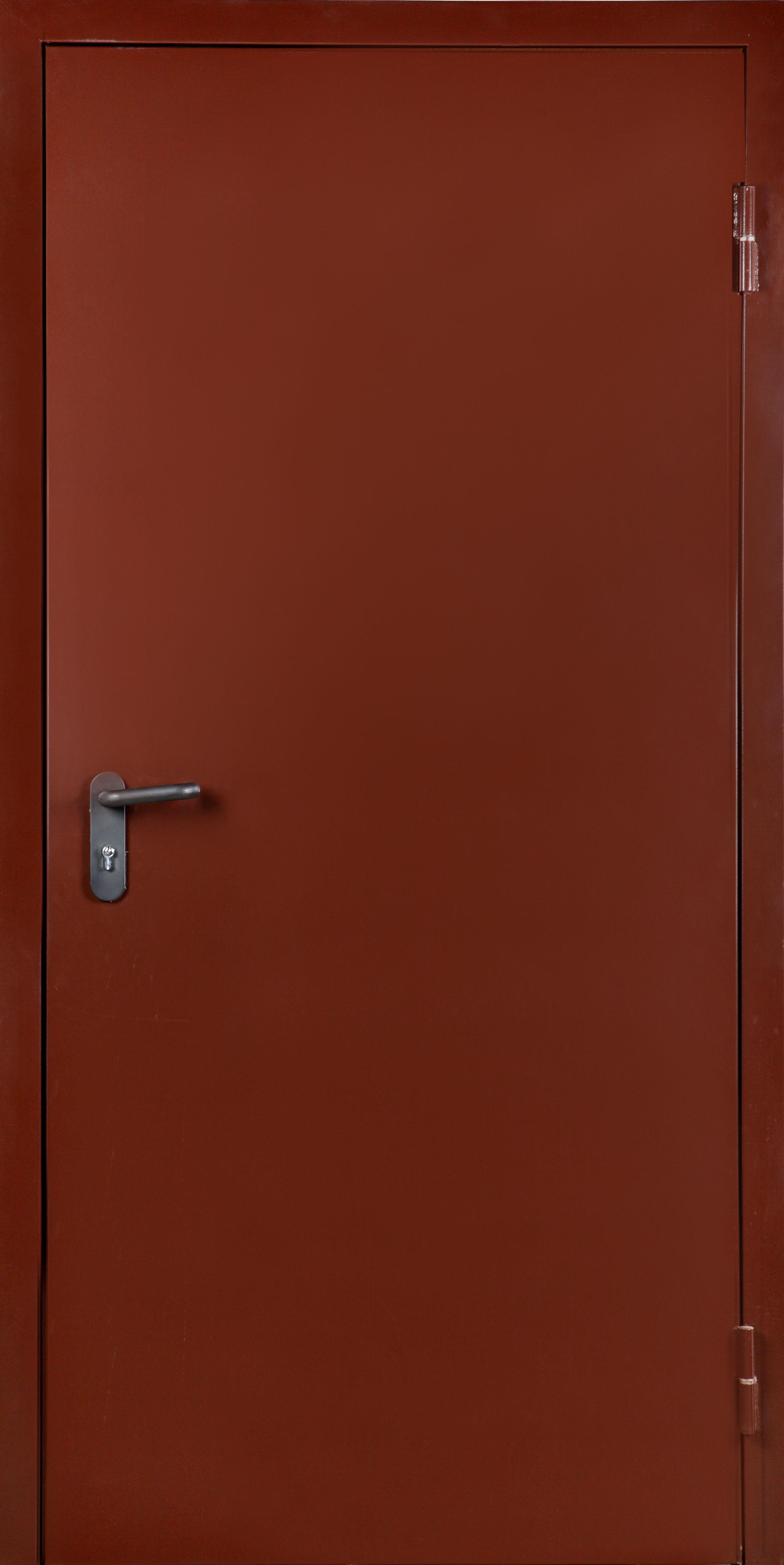 металлические технические двери для улицы